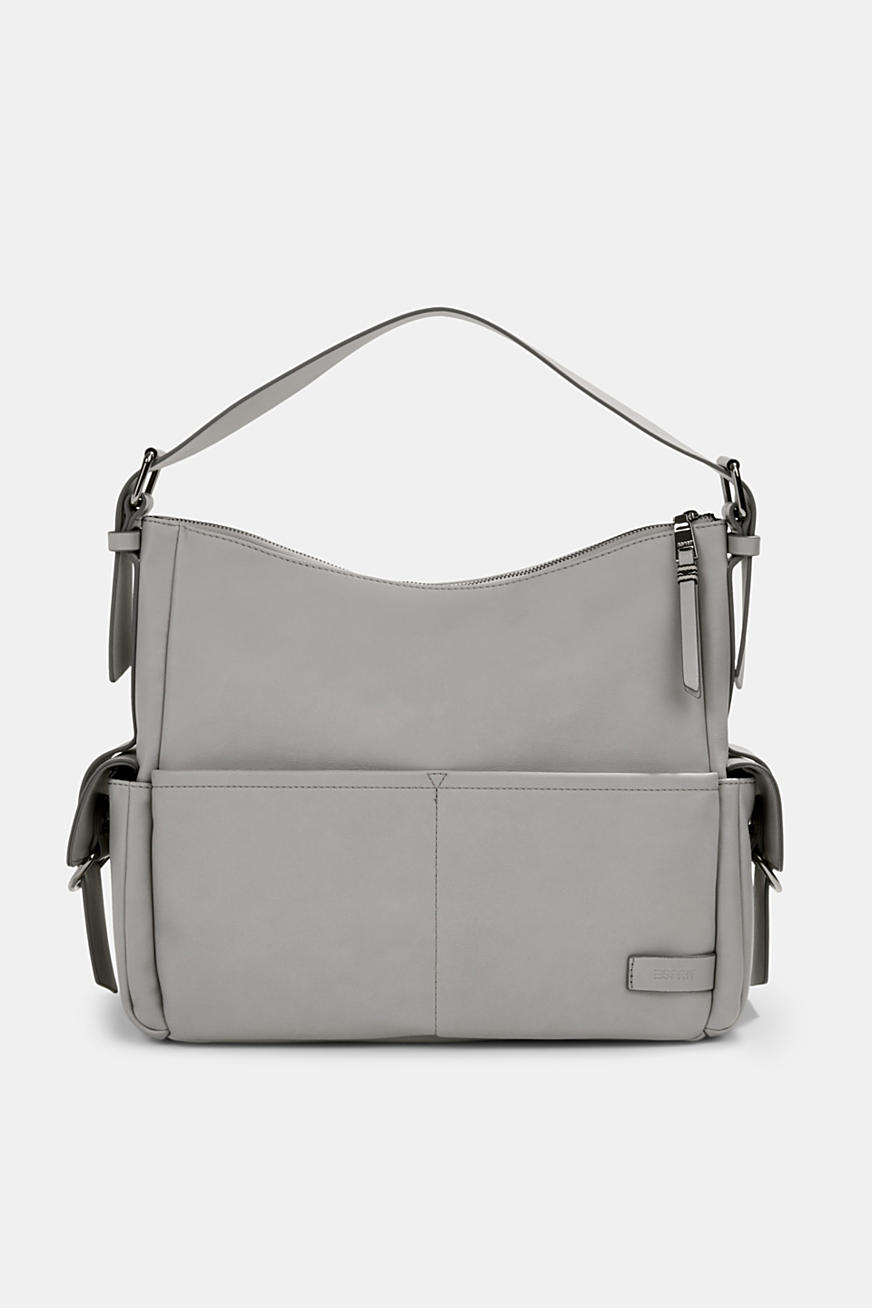 Vegan: Hobo Bag in Leder-Optik