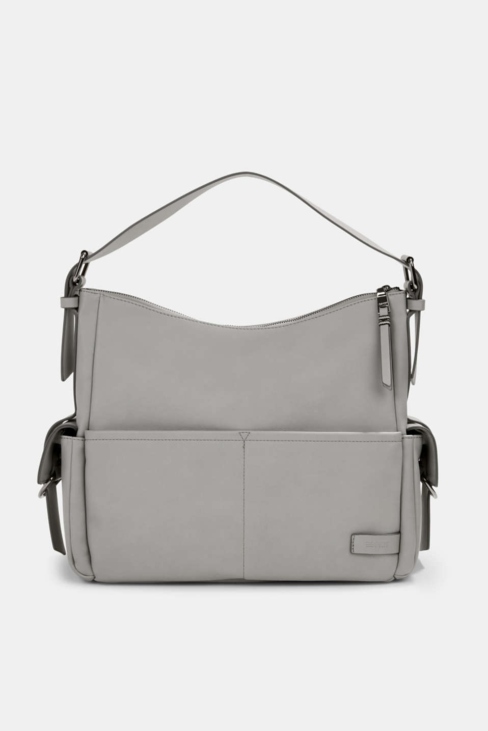 Esprit - Vegan: faux leather hobo bag