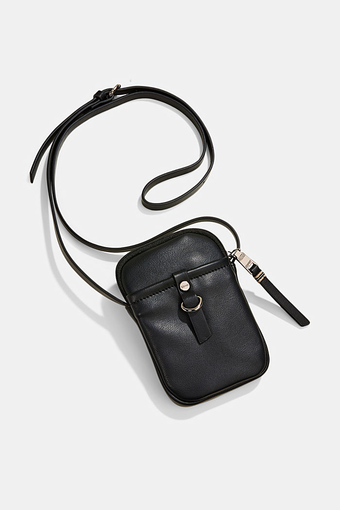 Vegan: Smartphone-Tasche in Leder-Optik