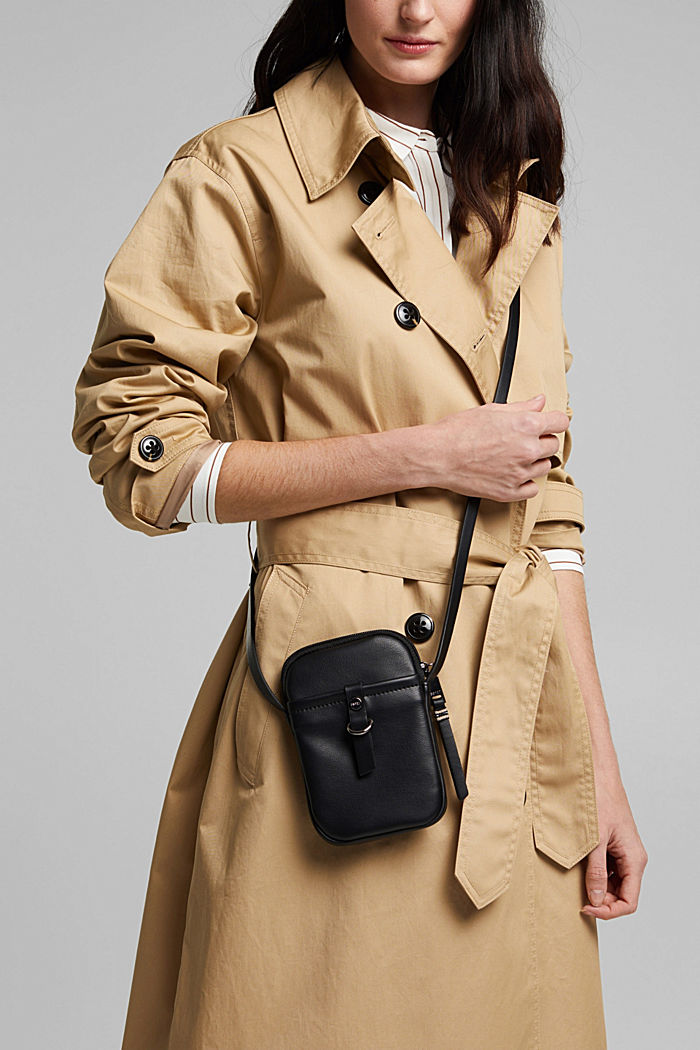 Vegan: Smartphone bag in faux leather