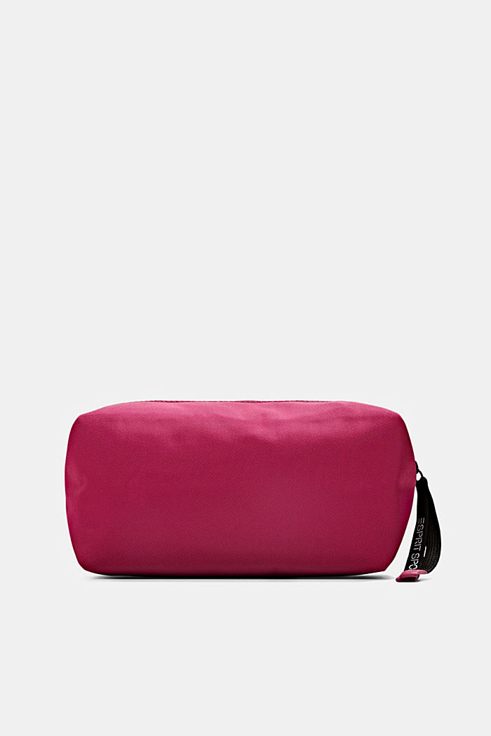 Sporty make-up bag, BERRY RED, detail image number 0
