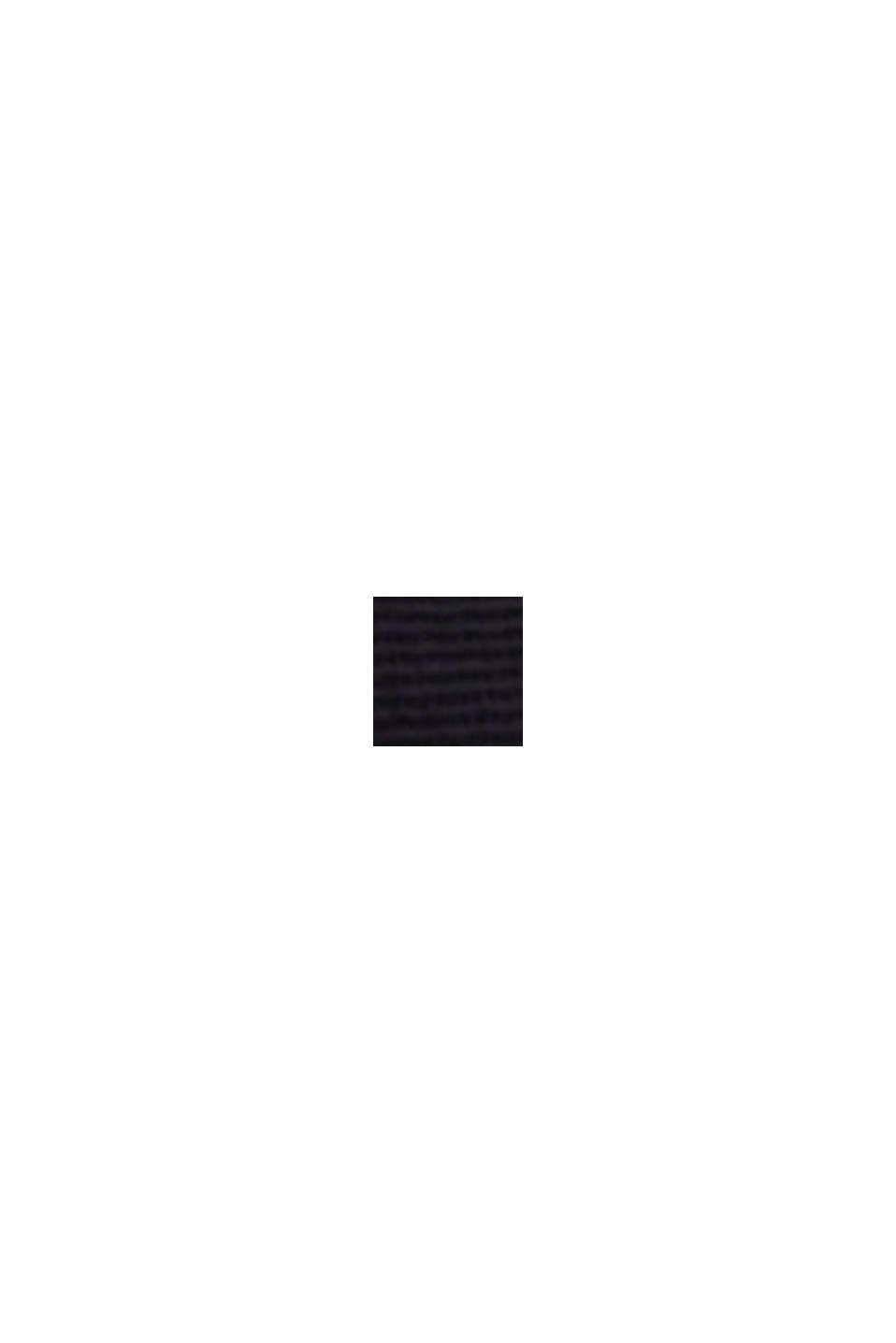 TENCEL™: Stretch-Chino mit hohem Bund, NAVY, swatch
