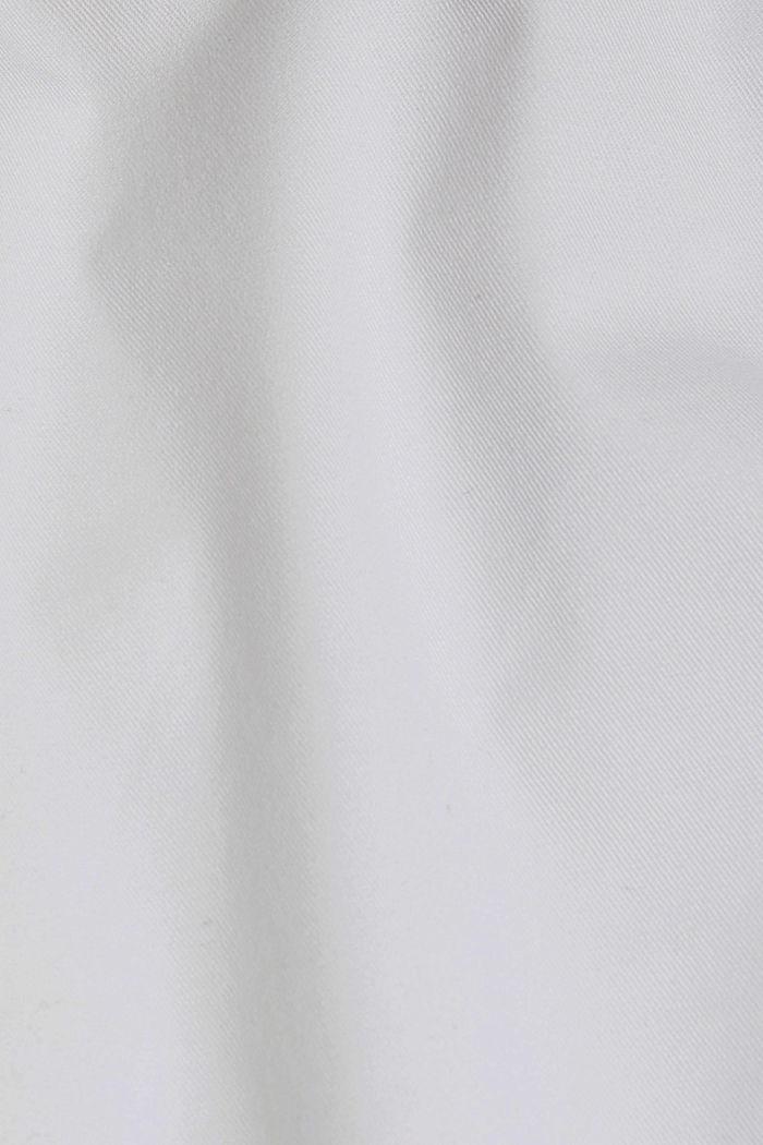 Stretch-Chino mit Organic Cotton, WHITE, detail image number 4