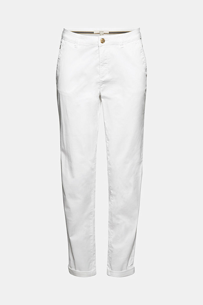Stretch-Chino mit Organic Cotton