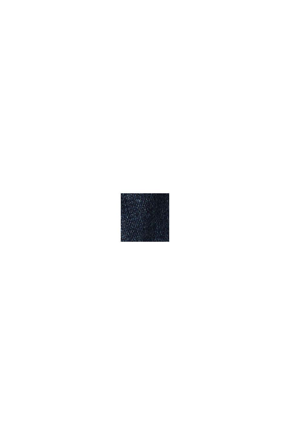 Vaqueros cortos de algodón ecológico, BLUE DARK WASHED, swatch