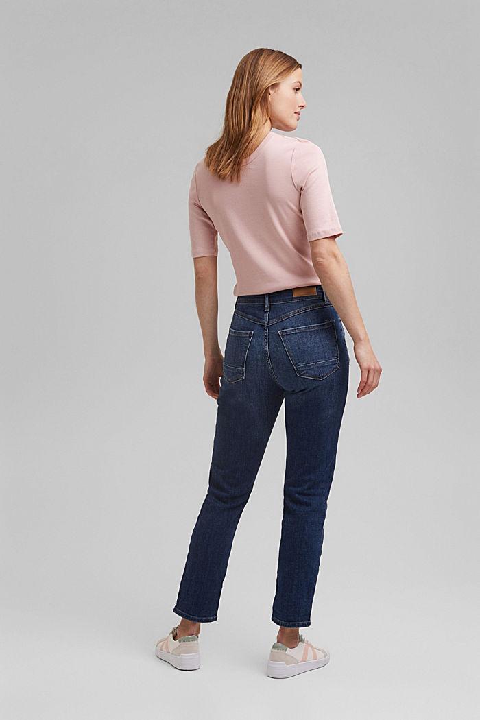 Cropped Jeans aus Organic Cotton, BLUE MEDIUM WASHED, detail image number 3