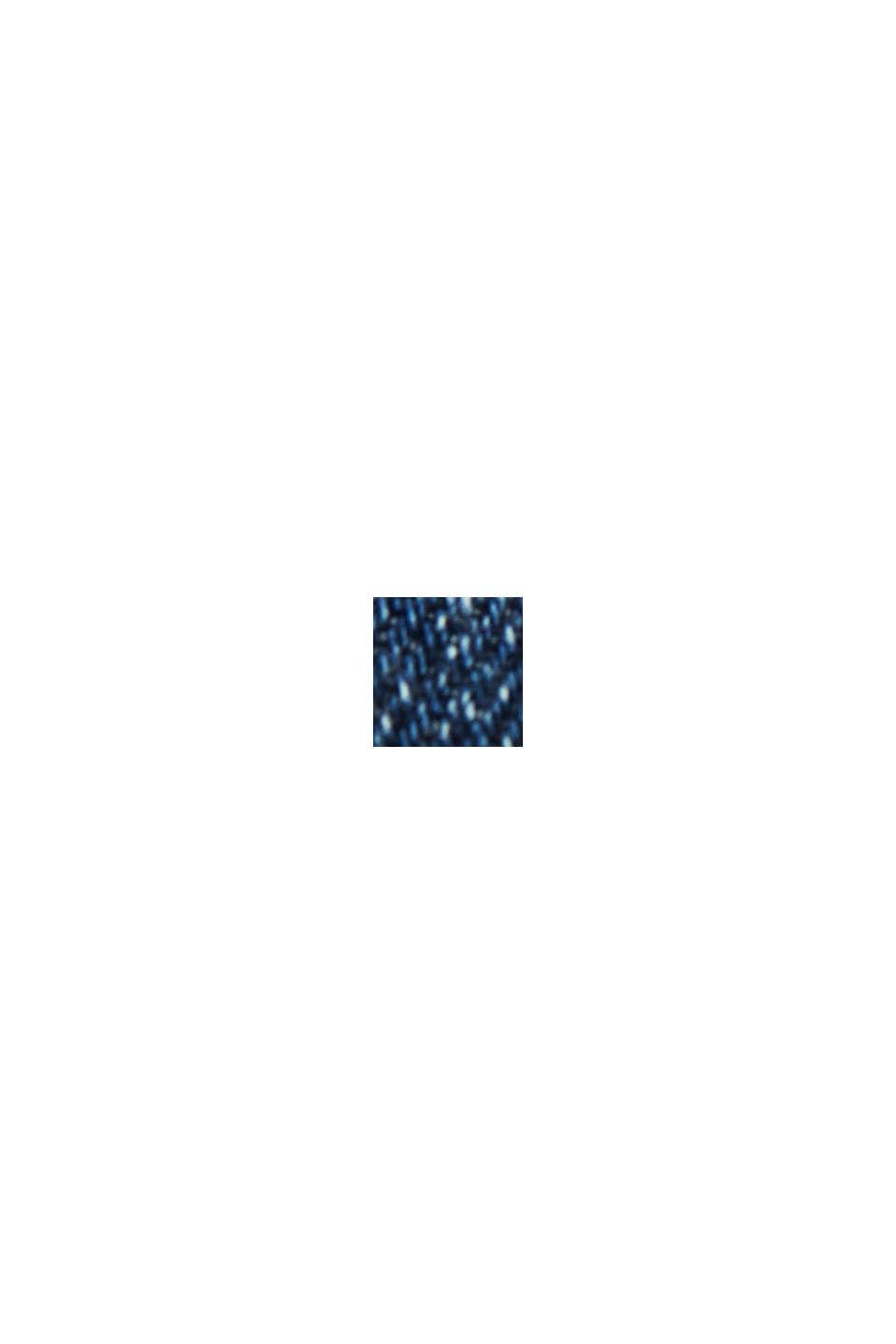 Vaqueros cortos de algodón ecológico, BLUE MEDIUM WASHED, swatch