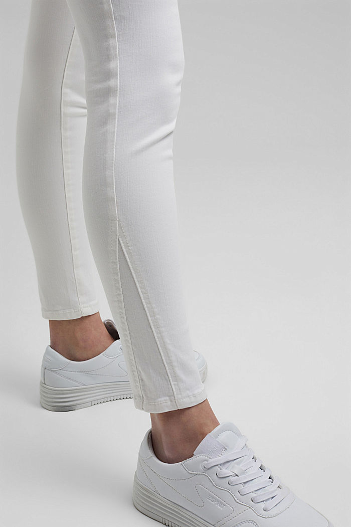 Shaping-Jeans mit Organic Cotton, WHITE, detail image number 5
