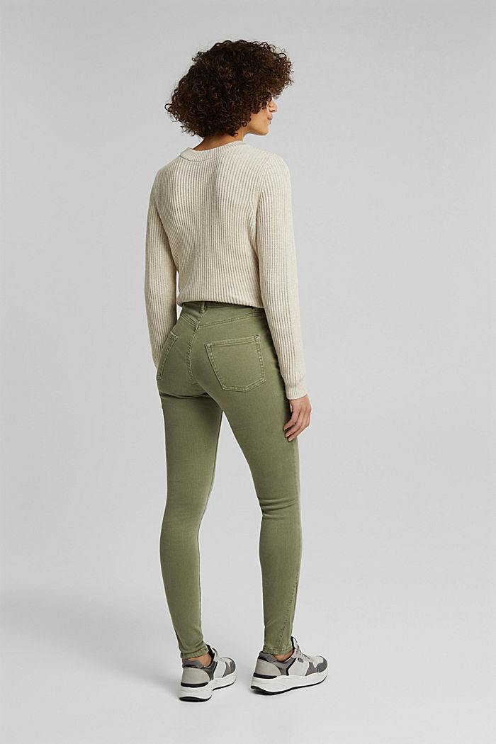 Shaping-Jeans mit Organic Cotton, LIGHT KHAKI, detail image number 3