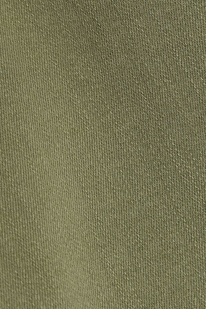 Jeans modellanti con cotone biologico, LIGHT KHAKI, detail image number 4