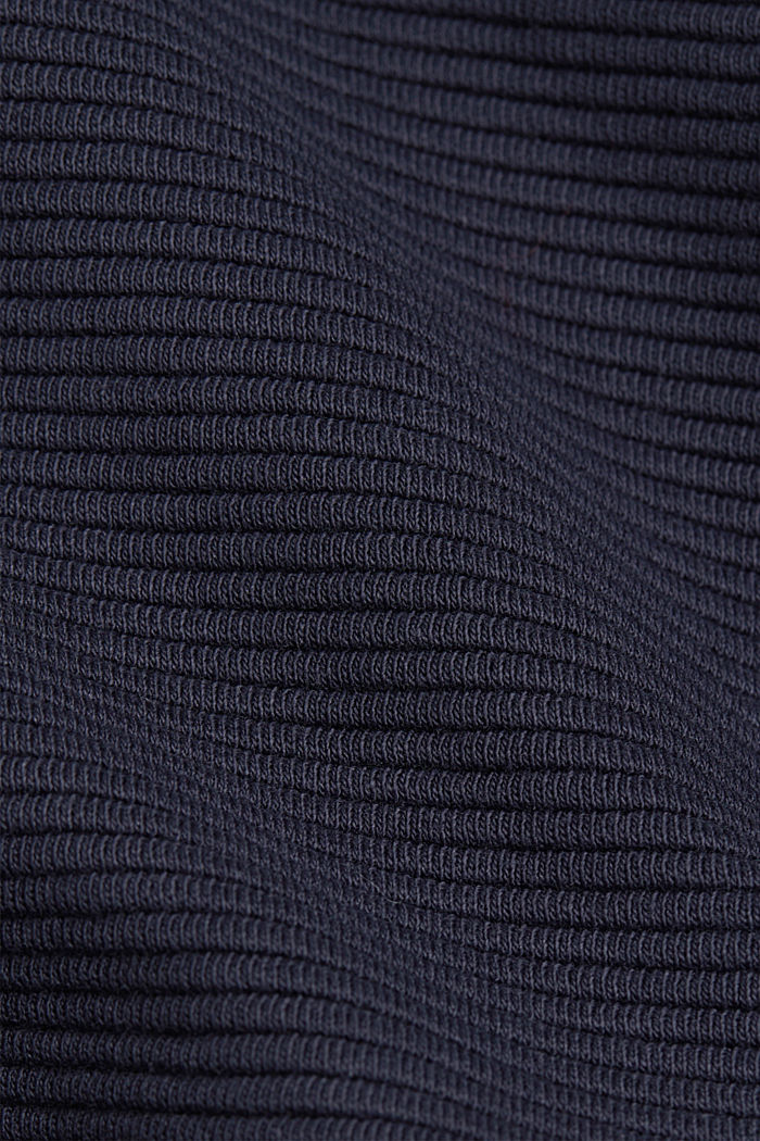Recycelt: Jersey-Rock mit Organic Cotton, NAVY, detail image number 4