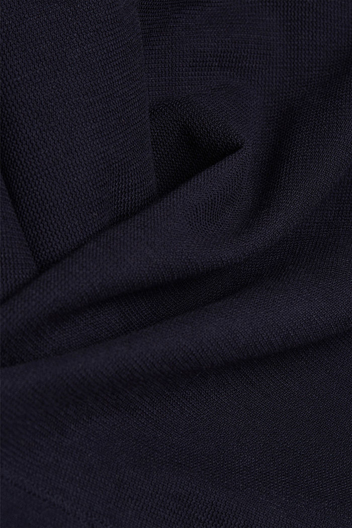 2in1: Pullover und Midikleid mit Organic Cotton, NAVY, detail image number 4
