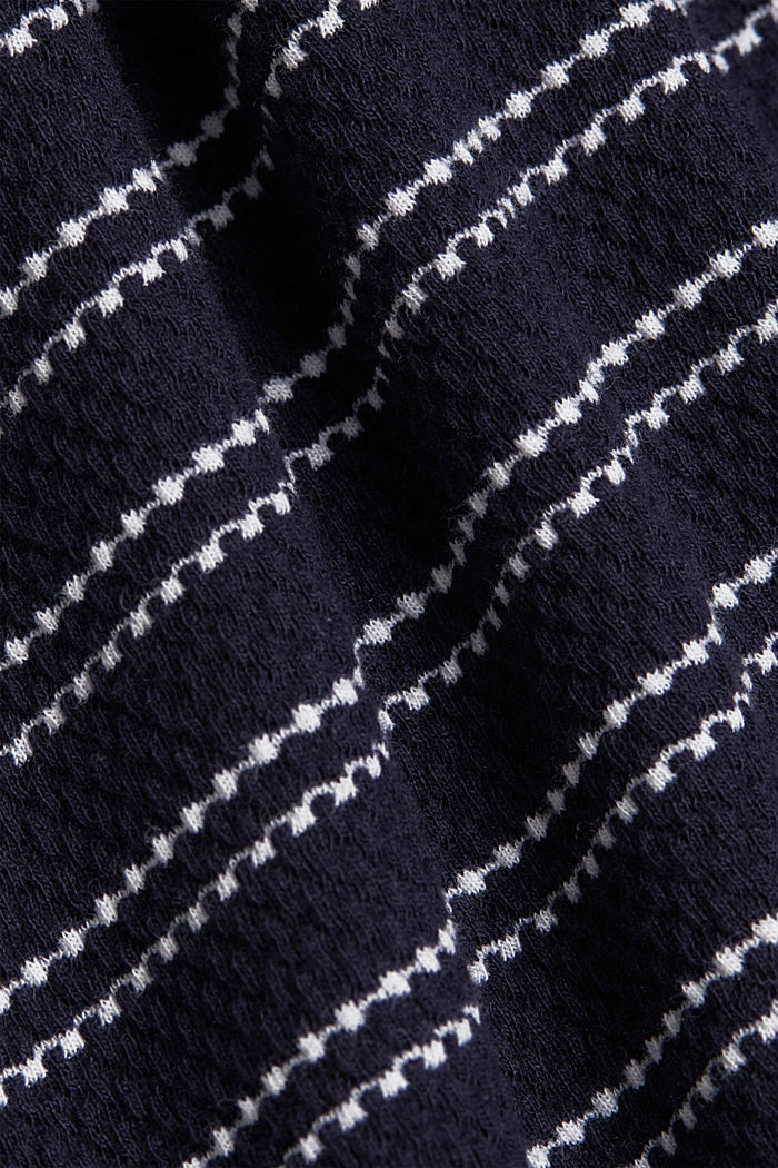 Kleid aus 100% Organic Cotton, NAVY, detail image number 4