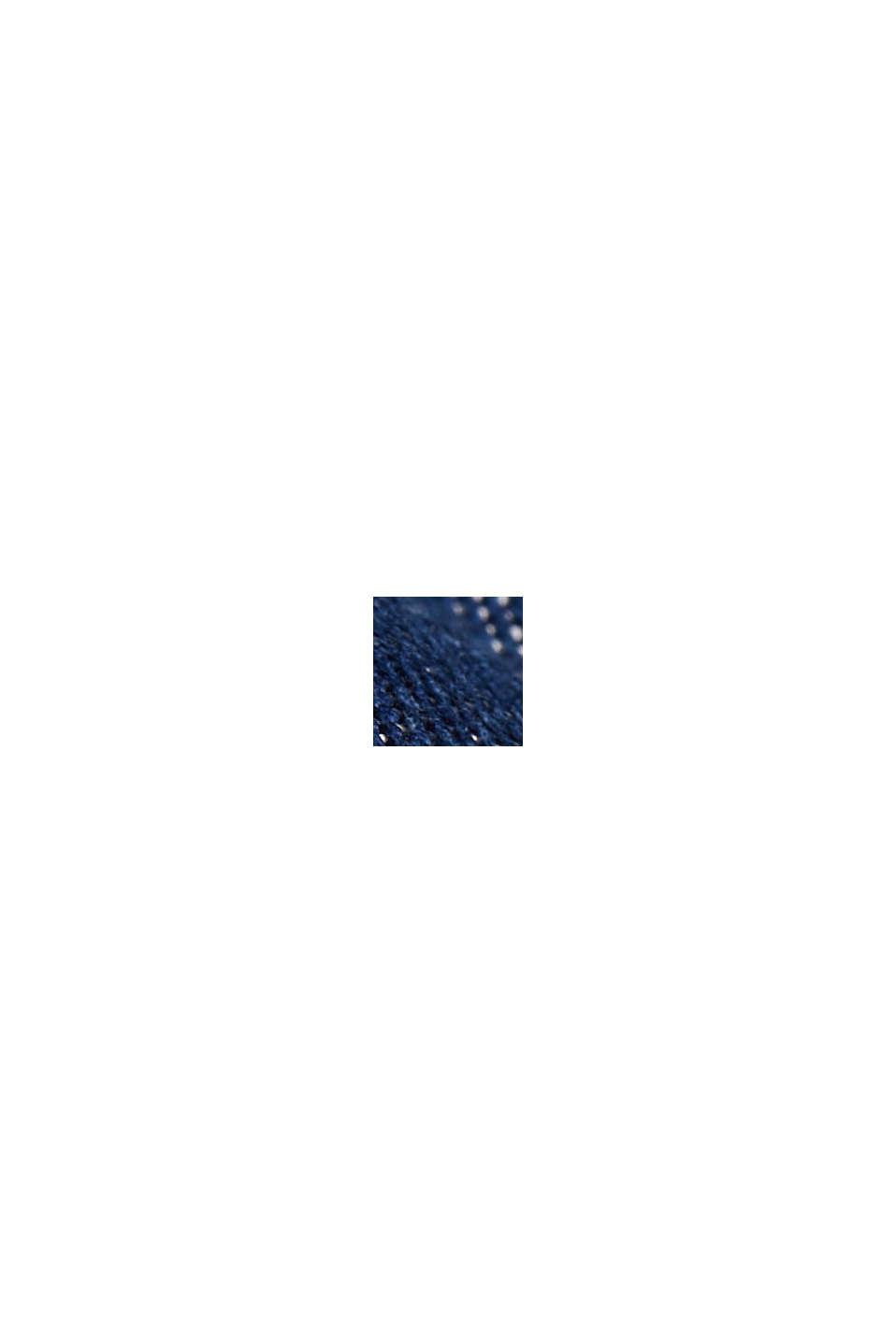 In TENCEL™: abito effetto denim, BLUE DARK WASHED, swatch