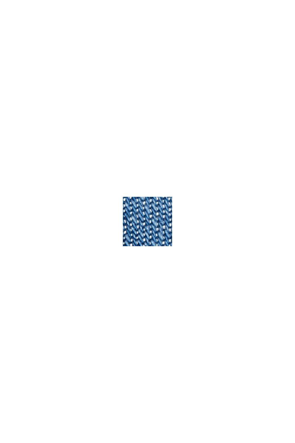 Van TENCEL™ lyocell: denim blouse, BLUE MEDIUM WASHED, swatch