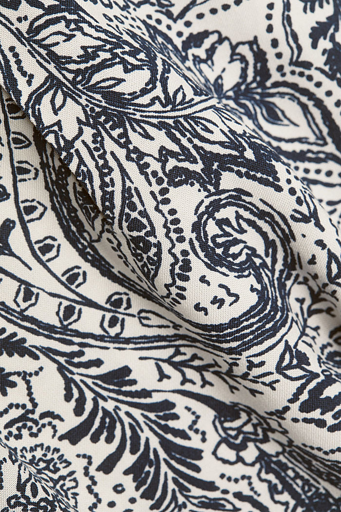 Paisley print blouse, OFF WHITE, detail image number 4