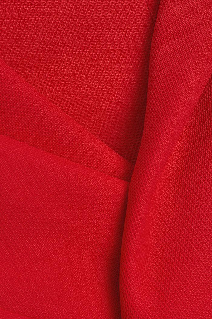 Blazermantel mit Struktur, RED, detail image number 4