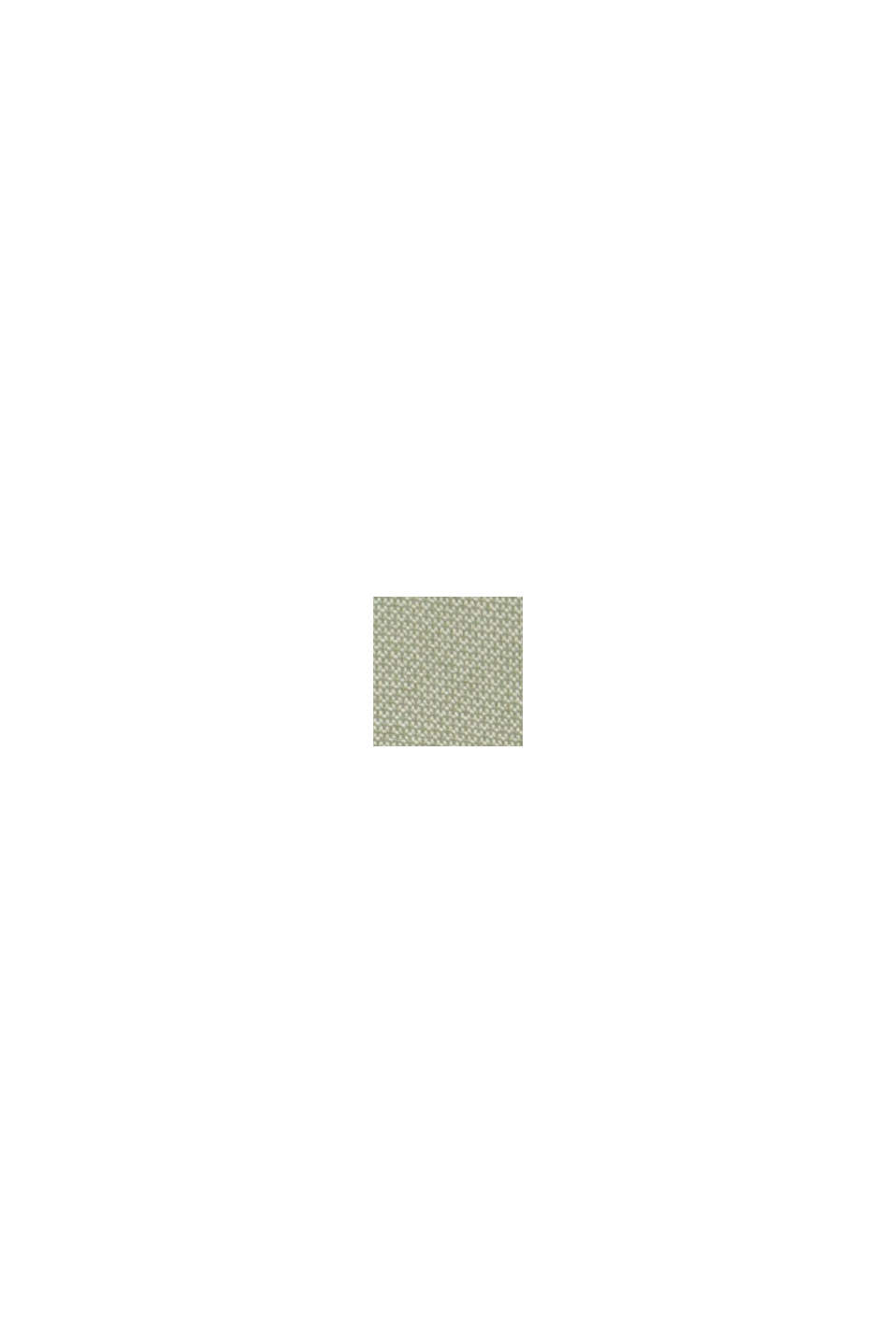 CURVY - Abrigo corto con textura, LIGHT KHAKI, swatch