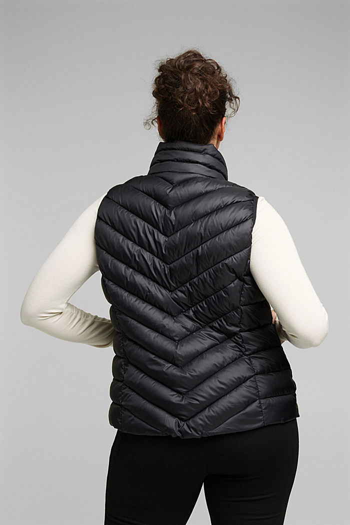 CURVY bodywarmer with 3M™ Thinsulate™ filling, BLACK, detail image number 3