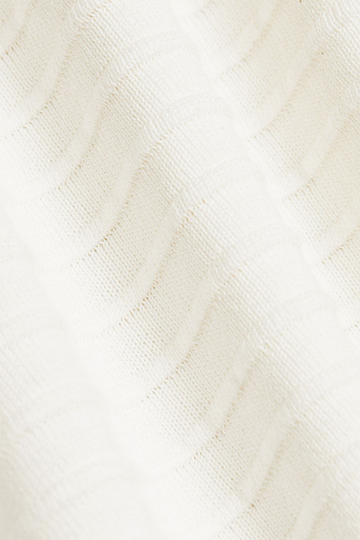Pullover mit Organic Cotton, OFF WHITE, detail image number 4