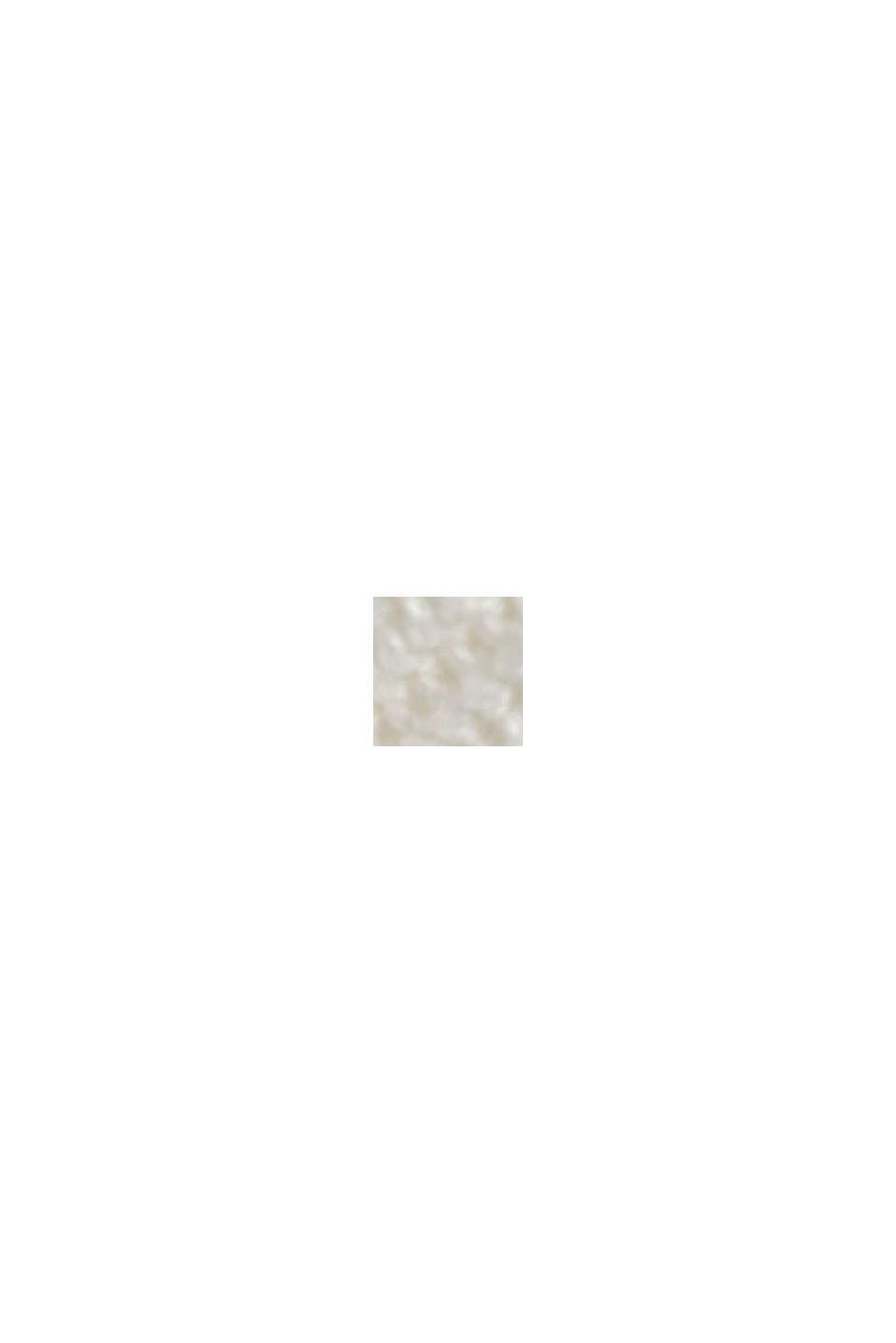 Struktur-Pullover mit Organic Cotton, OFF WHITE, swatch