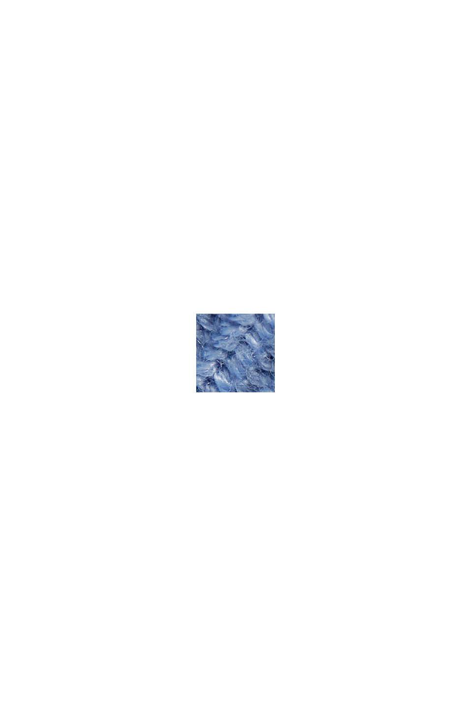 Struktur-Pullover mit Organic Cotton, PASTEL BLUE, swatch