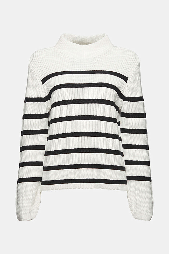Jumper made of 100% organic cotton, OFF WHITE, detail image number 7