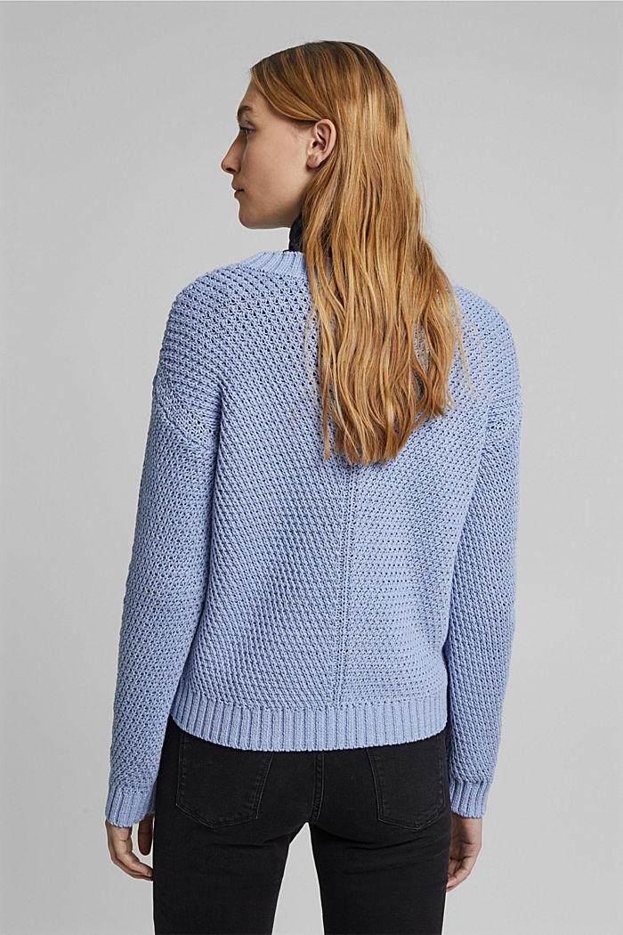 Pullover aus 100% Organic Cotton, PASTEL BLUE, detail image number 3