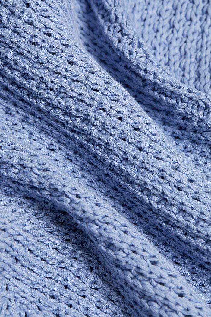 Pullover aus 100% Organic Cotton, PASTEL BLUE, detail image number 4