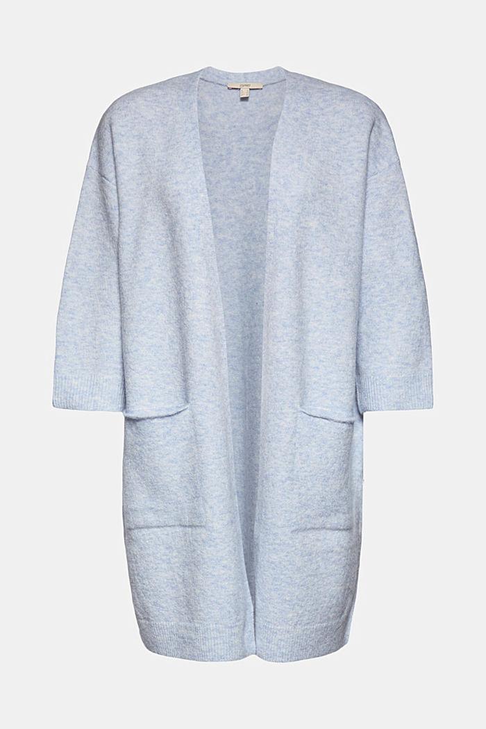 Mit Wolle und Alpaka: Long Cardigan