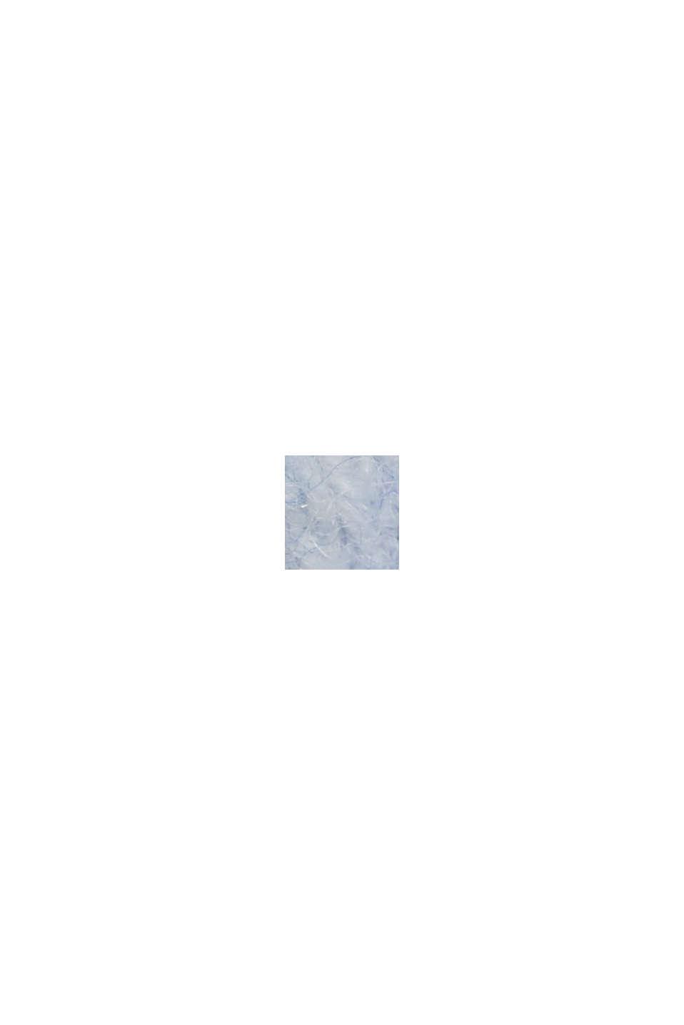 Med ull och alpacka: Lång kofta, PASTEL BLUE, swatch
