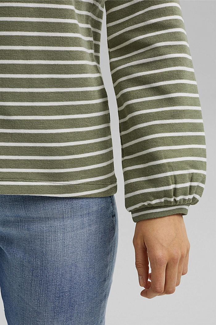 Sweatshirt aus Organic Cotton, LIGHT KHAKI, detail image number 2