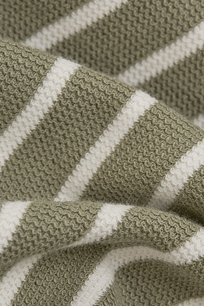 Sweatshirt aus Organic Cotton, LIGHT KHAKI, detail image number 4