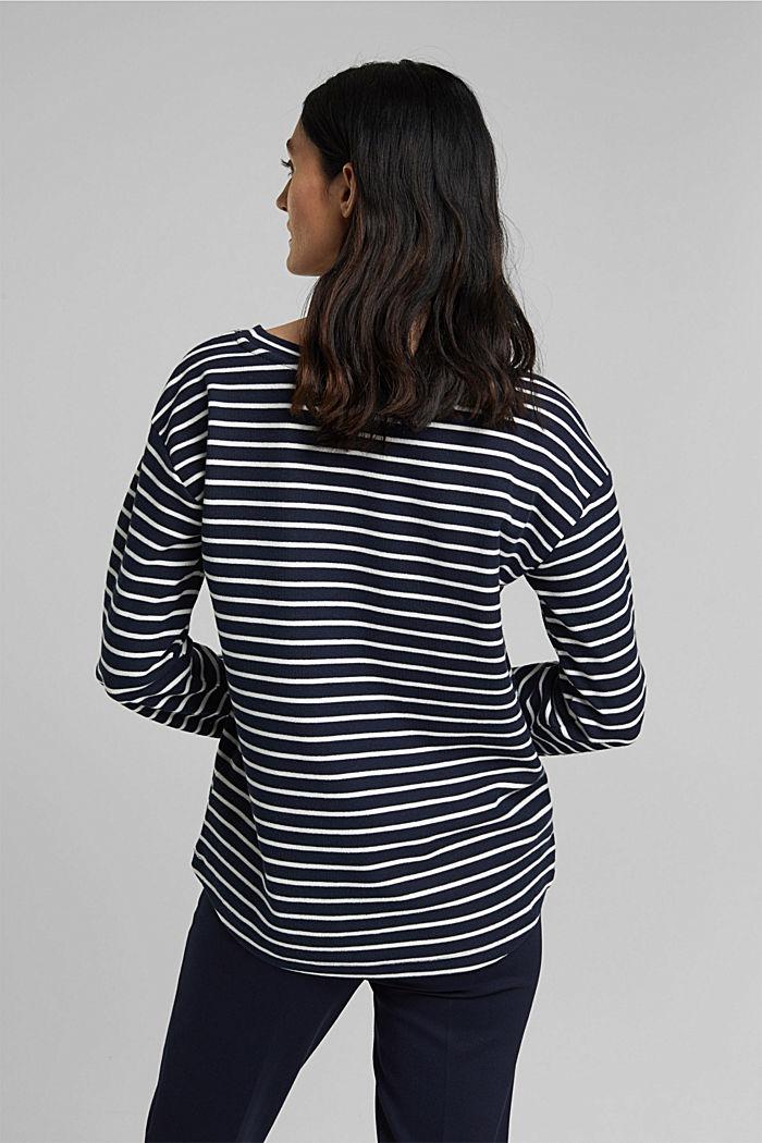 Sweatshirt aus Organic Cotton, NAVY, detail image number 3
