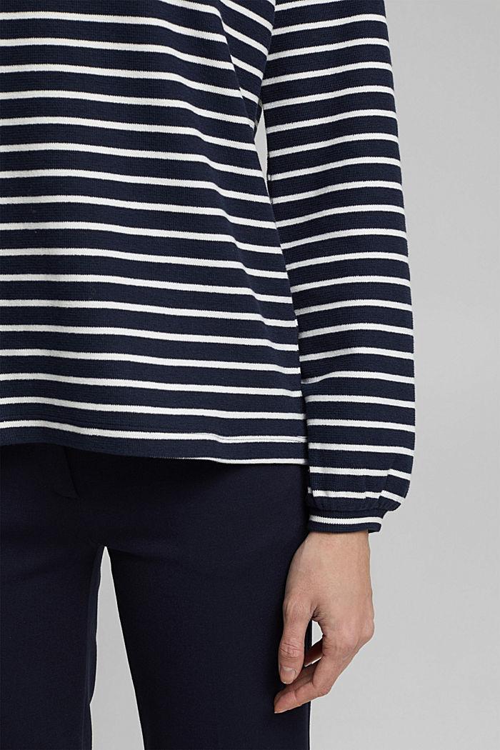 Sweatshirt aus Organic Cotton, NAVY, detail image number 2