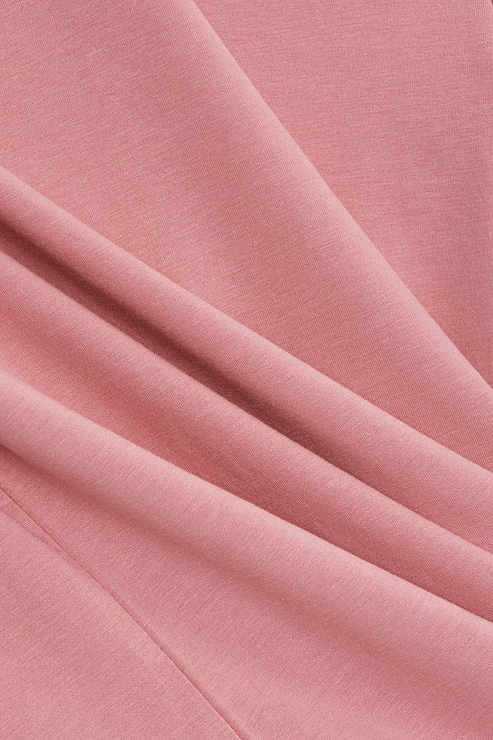 Basic T-shirt in organic cotton, PINK, detail image number 4