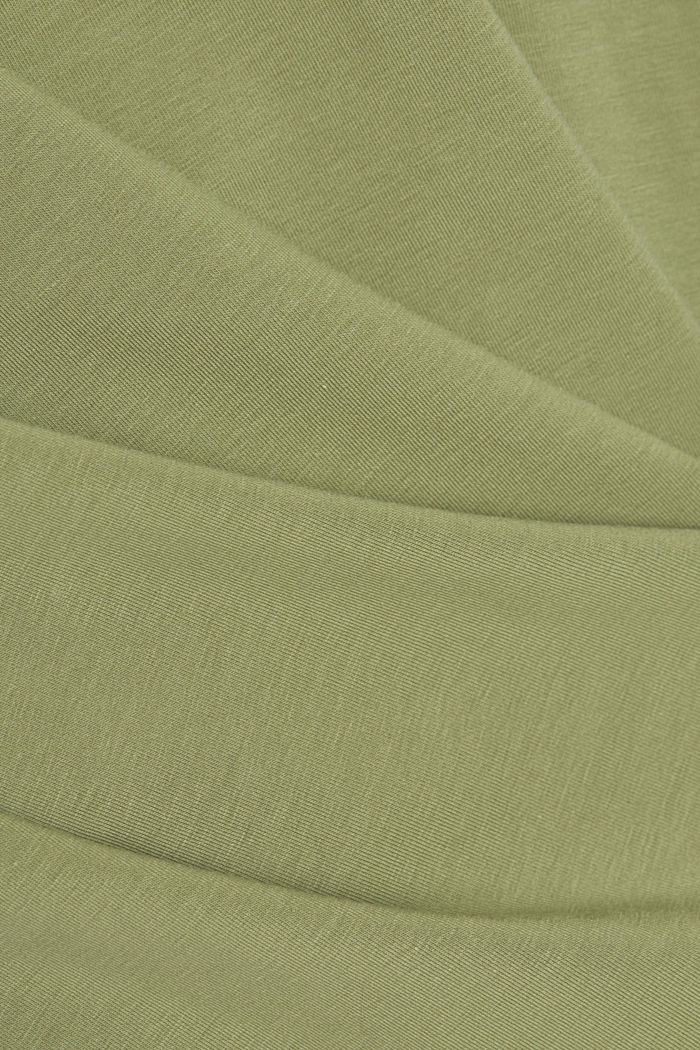 Tank-Top mit Stretch aus Organic Cotton, LIGHT KHAKI, detail image number 4