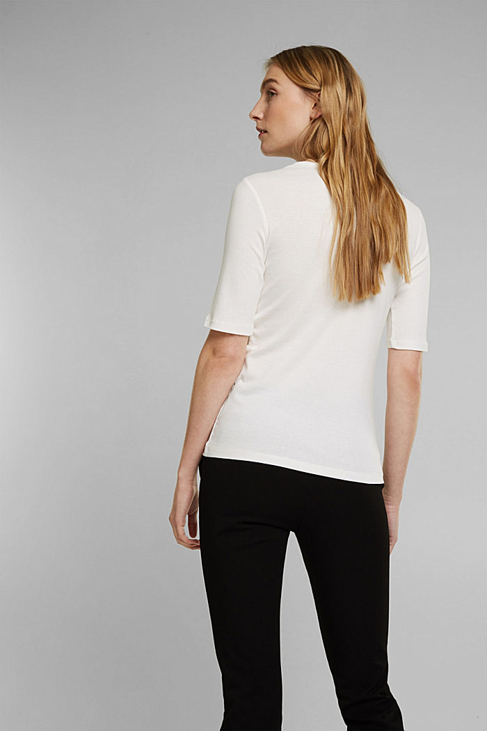 T-shirt made of 100% organic cotton, OFF WHITE, detail image number 3