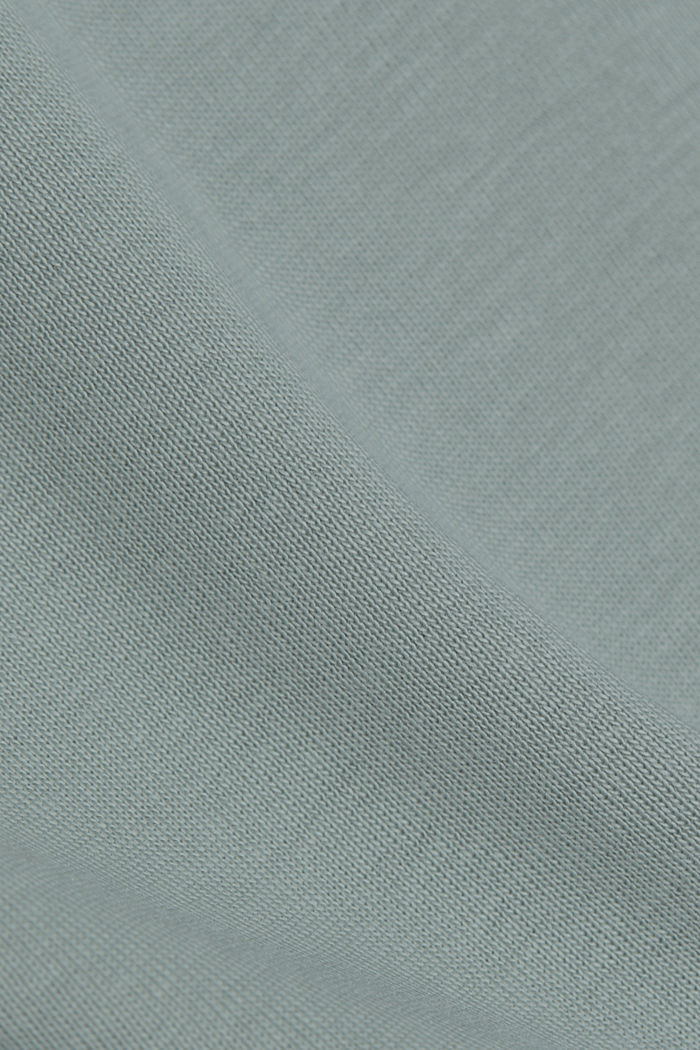 T-Shirt aus 100% Organic Cotton, TURQUOISE, detail image number 4