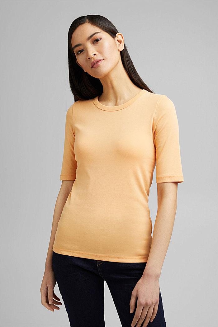 T-Shirt aus 100% Organic Cotton, PEACH, detail image number 0