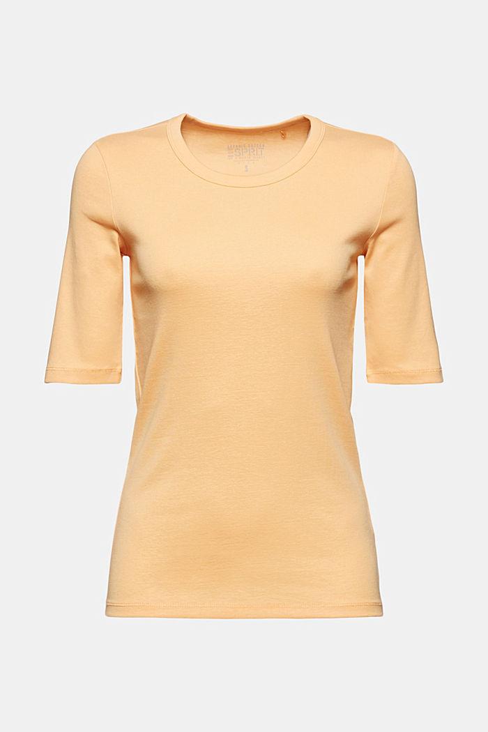 T-Shirt aus 100% Organic Cotton, PEACH, detail image number 5