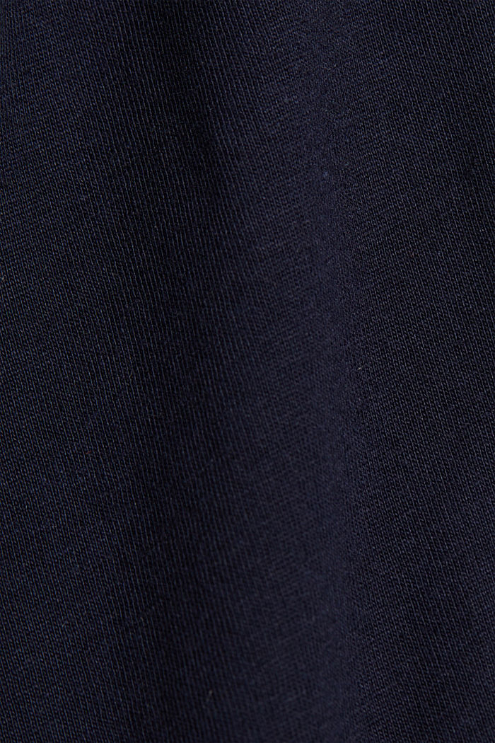 Printed T-shirt in 100% organic cotton, NAVY, detail image number 4
