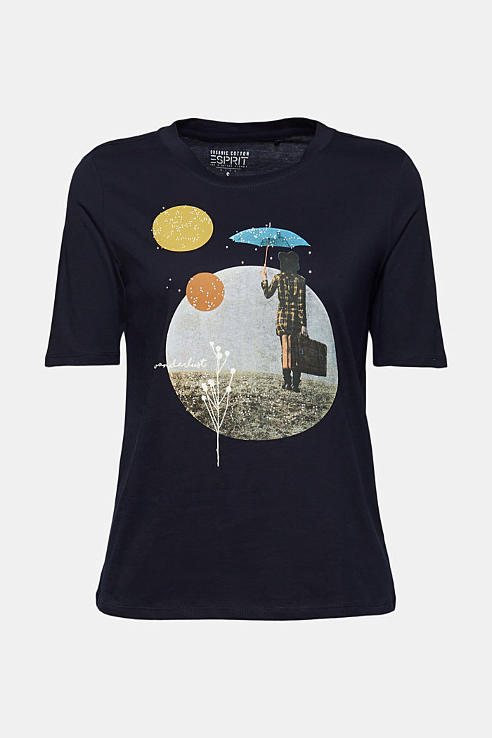 Print-T-Shirt aus 100% Organic Cotton