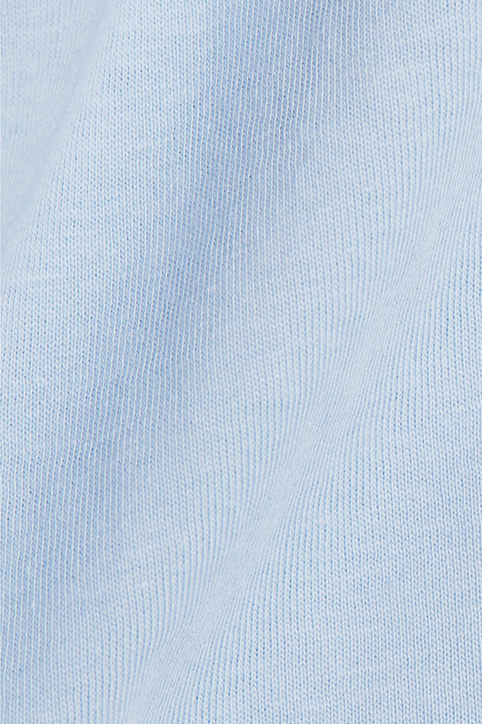 Jersey T-shirt made of 100% organic cotton, PASTEL BLUE, detail image number 4
