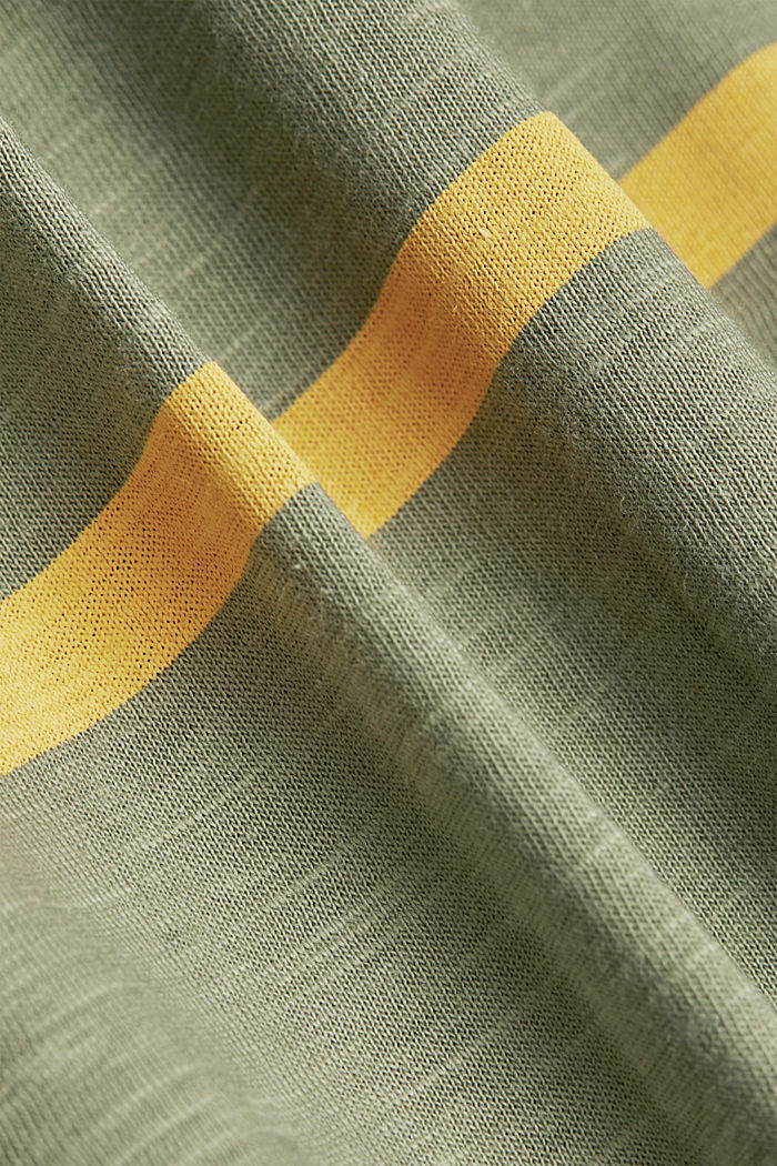 Longsleeve aus 100% Organic Cotton, LIGHT KHAKI, detail image number 4