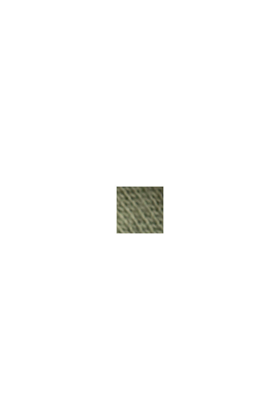Maglia a manica lunga in 100% cotone biologico, LIGHT KHAKI, swatch