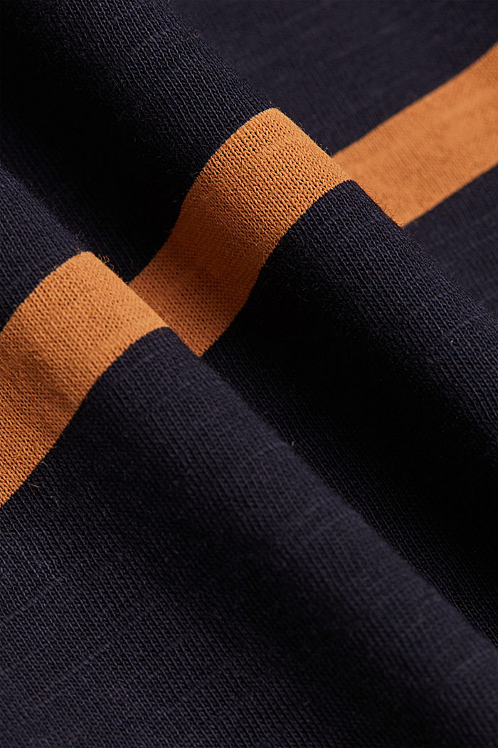 Longsleeve aus 100% Organic Cotton, NAVY, detail image number 4