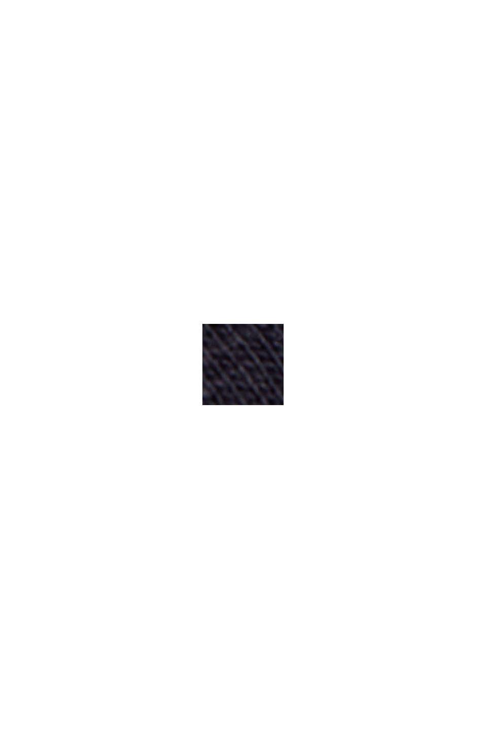 Maglia a manica lunga in 100% cotone biologico, NAVY, swatch