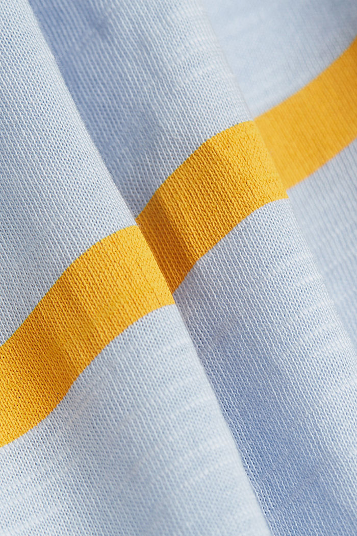 Long sleeve top made of 100% organic cotton, PASTEL BLUE, detail image number 4