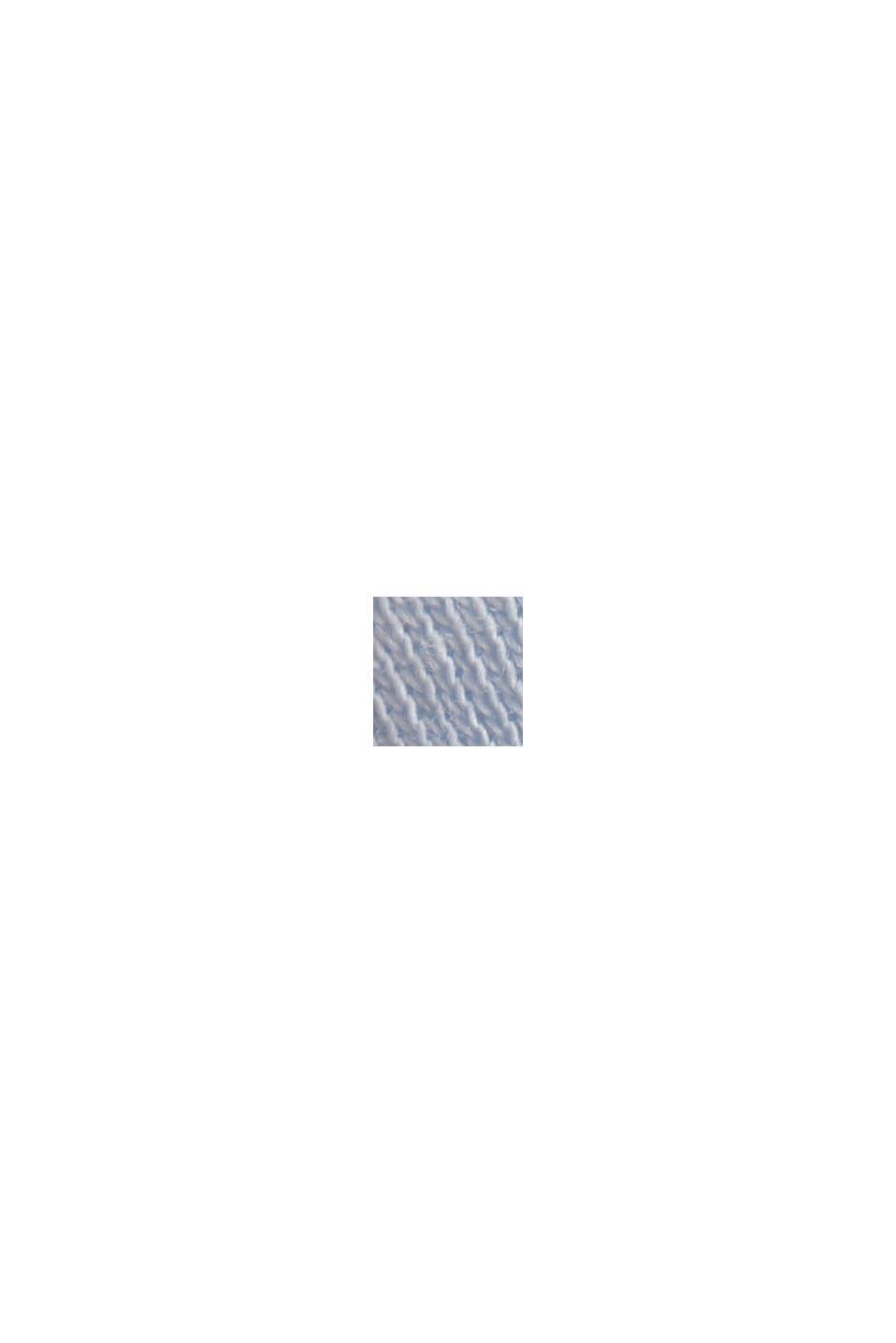 Maglia a manica lunga in 100% cotone biologico, PASTEL BLUE, swatch